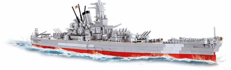 Yamato Class Battleship - Musashi (2400 Teile)