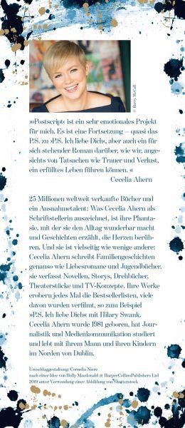 Cecelia Ahern Postscript Portofrei Bei Bucher De Kaufen