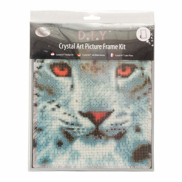 30x30 cm Leopard Framed Crystal Art Crafts Kit
