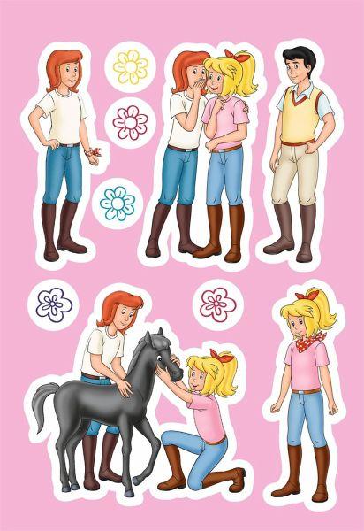 bibi  tina pferdestarker sticker und malspaß portofrei