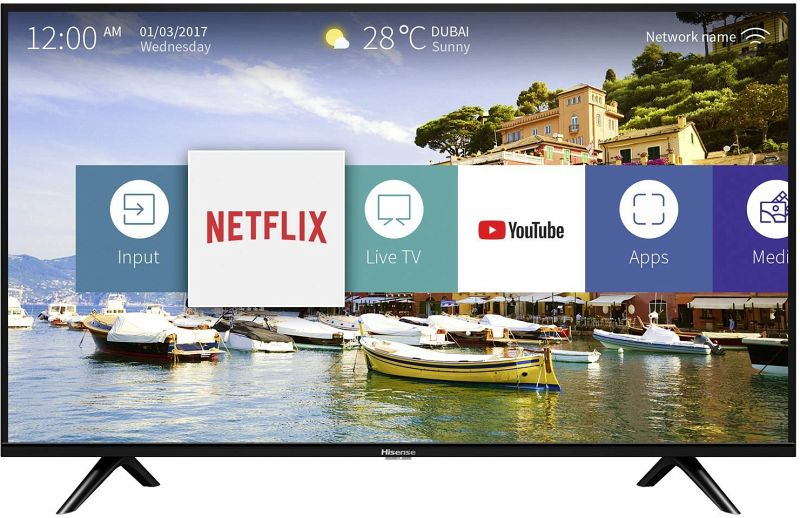 Hisense H32B5600 80 cm (32 Zoll) Fernseher (Full HD ...